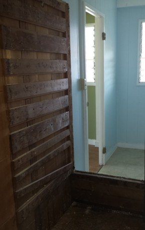 Expansion of the Shower by Reducing Size of Closet